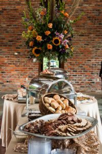 baton rouge wedding catering display