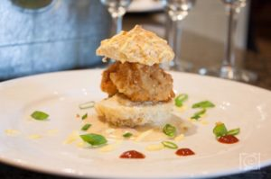 catfish biscuit- chefs table