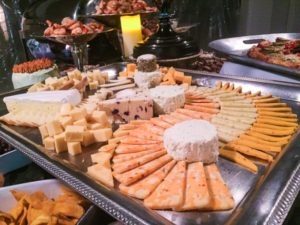 cheese display - catering for cocktail parties in baton rouge louisiana
