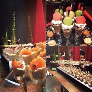 christmas parties catering desserts