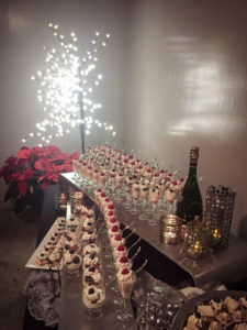 dessert display - wedding catering
