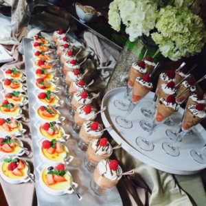 desserts - event catering