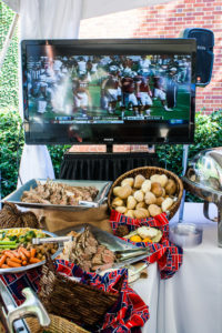 football tailgate catering