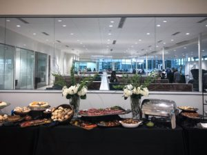 Catering Display for Grand Opening Event