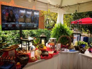 Tailgate Catering at The Grove at Ole Miss