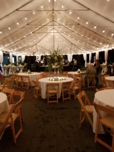 Friday Night Lights Rehearsal Dinner Wedding Catering