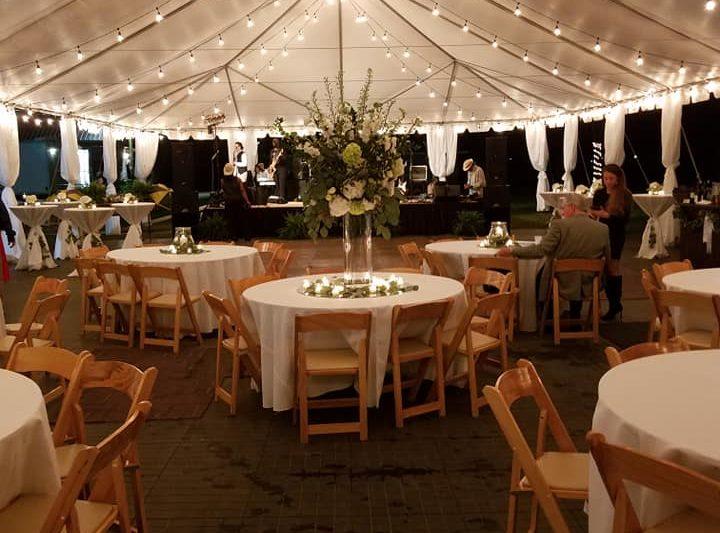 Friday Night Lights Rehearsal Dinner Wedding Catering