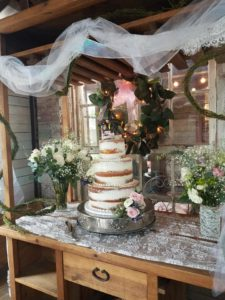 Wedding Cake Catering at Beauvoir Park
