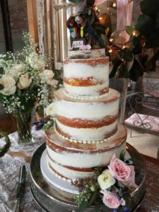 Wedding Cake Reception Catering at Beauvoir Park