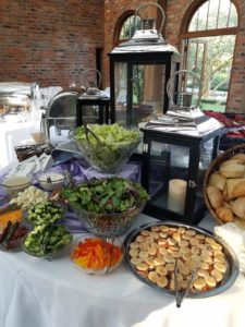 Wedding Catering Display at LSU Rural Life Museum