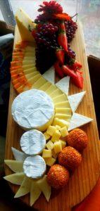 Cheese Tray display