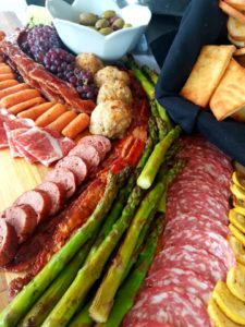 charcuterie board cocktail party catering baton rouge