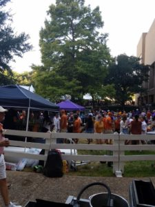 Professional LSU Tailgate Catering for Away Game at UT Austin game