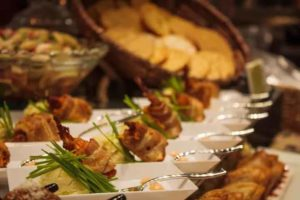 Elegant Food Displays - Wedding Catering