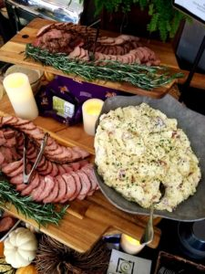 Sliced Meat Culinary Displays at LSU Tailgate