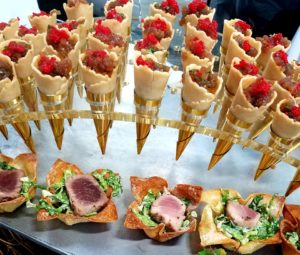 Culinary Displays at LA Wild Night Fundraiser