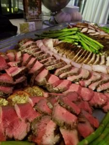 Culinary Displays at Wedding Reception
