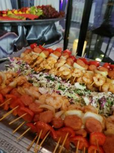 Louisiana Shrimp and Sausage Kabobs