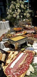 Wedding Reception Catering Display Shaw Center Baton Rouge