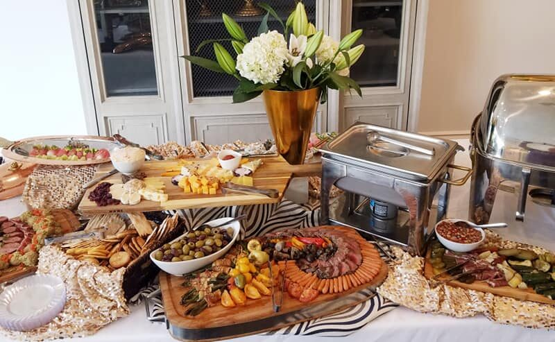 Small Gathering Catering Display for Birthday Party Baton Rouge