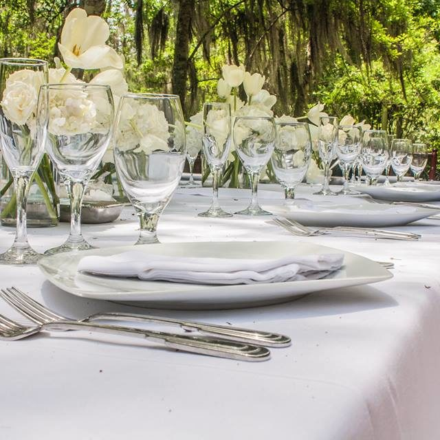 Table Setting - Wedding Catering - Baton Rouge